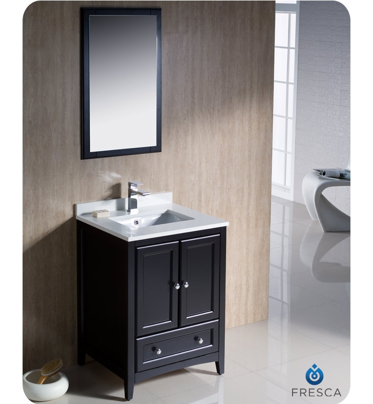 Wonderful Sheffield Espresso 36in Undermount Single Sink Birch Bathroom Vanity