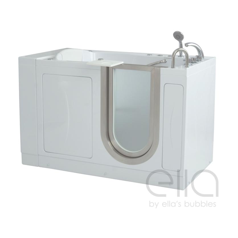 Royal Soaking Walk In Tub Platinum Bath