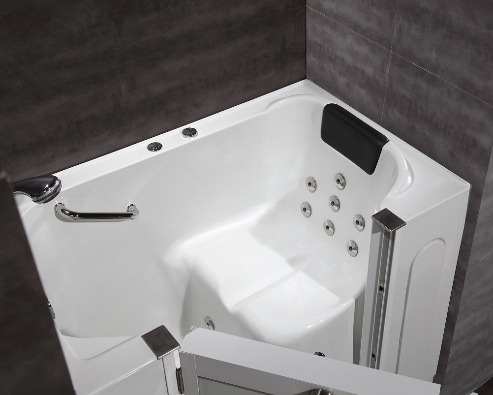 Walk-In Hydro jetted 50″ x 30″ Bath Tub | Platinum Bath