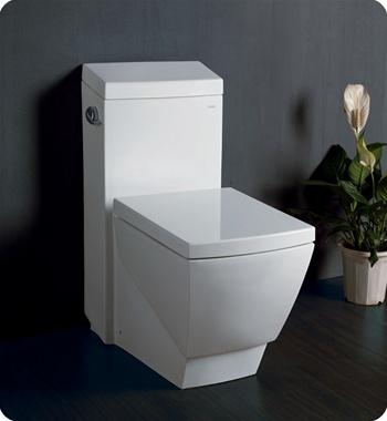 Fresca Apus One Piece Square Toilet W Soft Close Seat