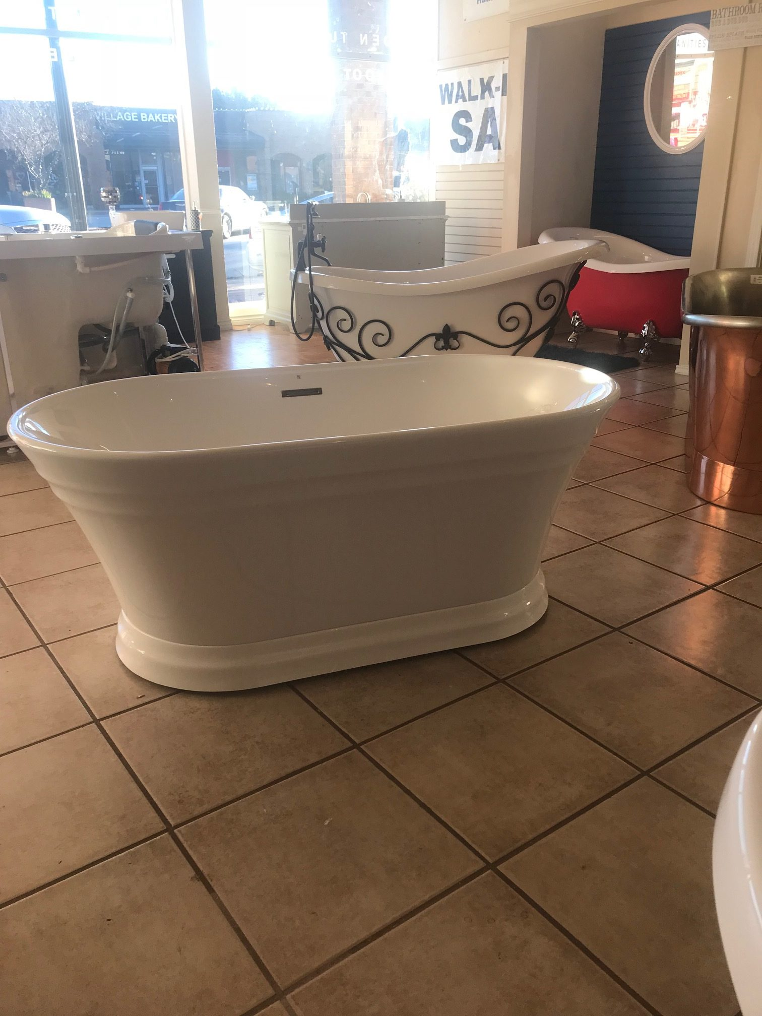 Discount Soaking Tubs. Imperia Luxury Tub For Two With Discount ...