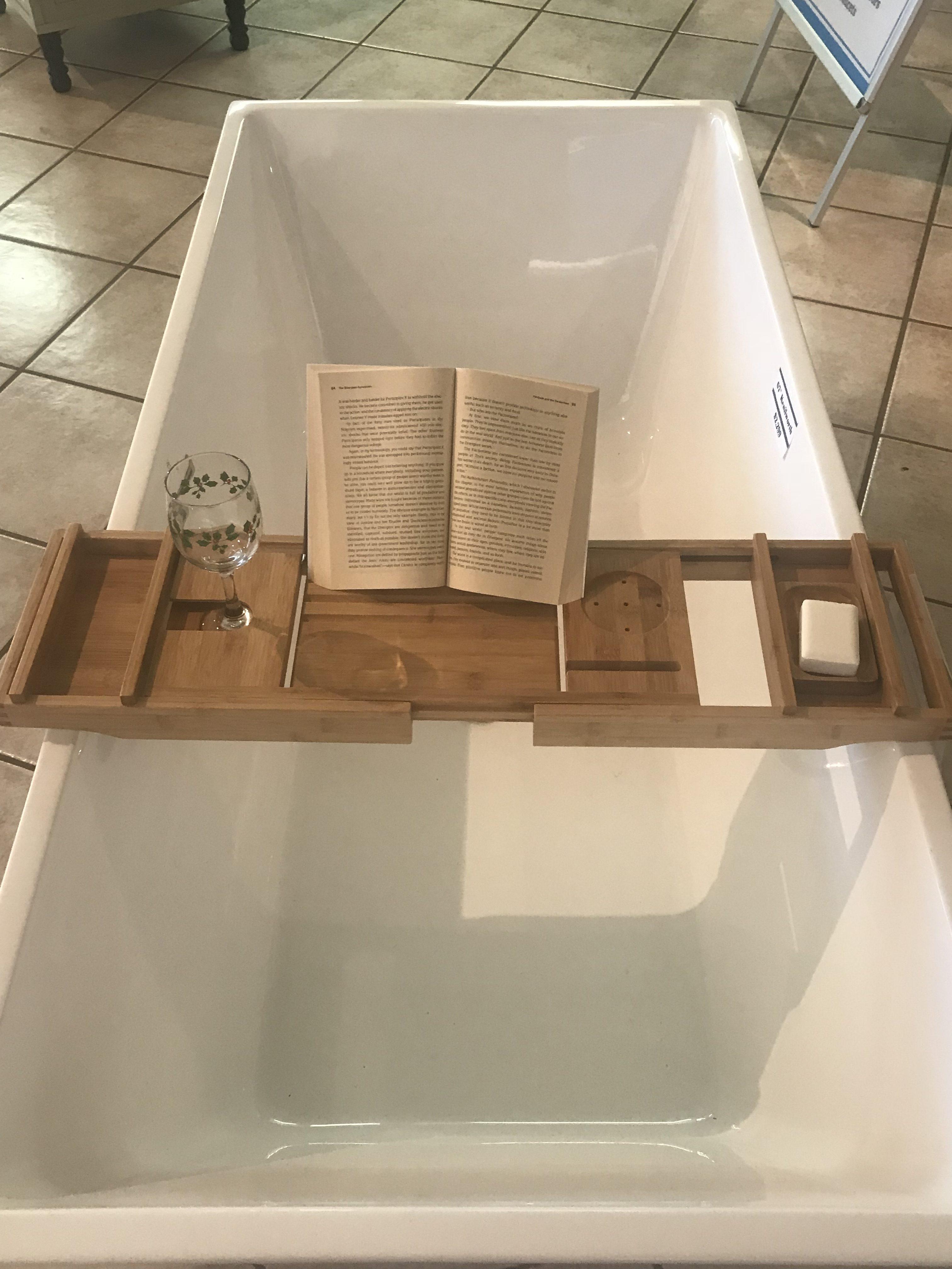 Expandable Bamboo Bathtub Caddy - Best Bathtub 2018