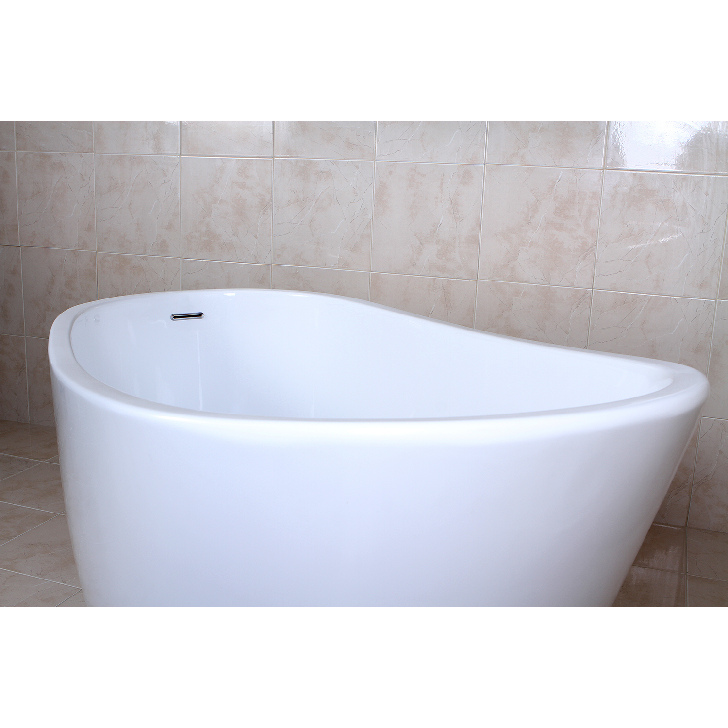 59 Aqua Eden Contemporary Freestanding Acrylic Bathtub