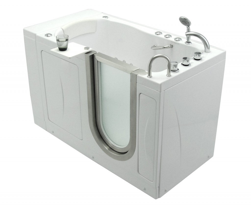 Elite – Dual Massage Acrylic Walk In Bathtub With Heated Seat and ...