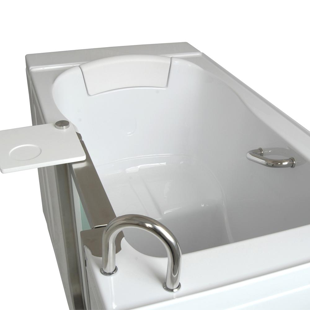 Infusion MicroBubble Therapy Walk In Bathtub Platinum Bath