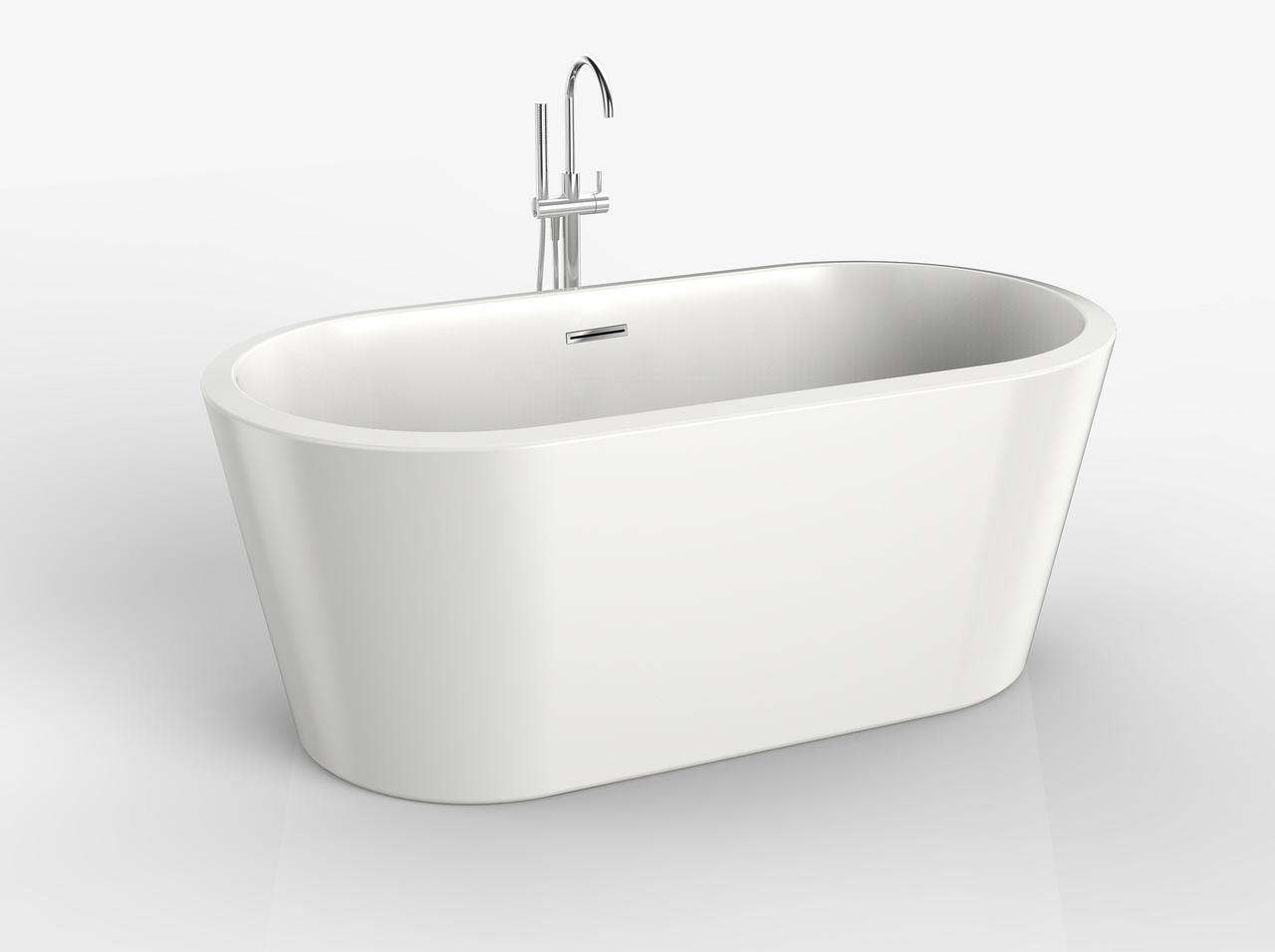 ″ regalia modern oval freestanding tub  ballade floormounted  - ″ regalia modern oval freestanding tub  ballade floormounted tub filler